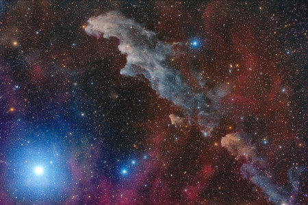 Rigel And The Witch Head Nebula C Mario Cogo