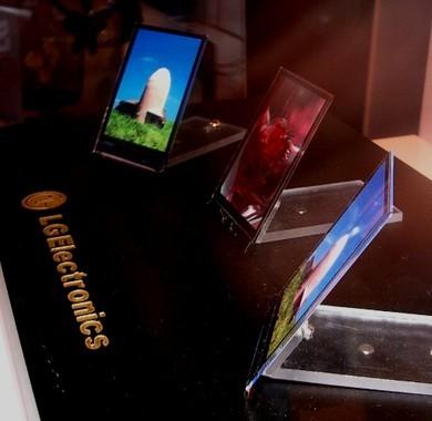 Pantallas OLED de 32 pulgadas de LG para 2011