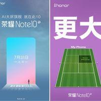 El Honor Note 10 se filtra al completo: especificaciones de nivel en un cuerpo tamaño XXL