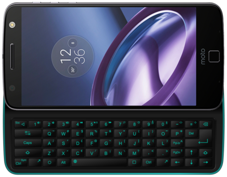 Physical Keyboard Mod For Moto Z 5