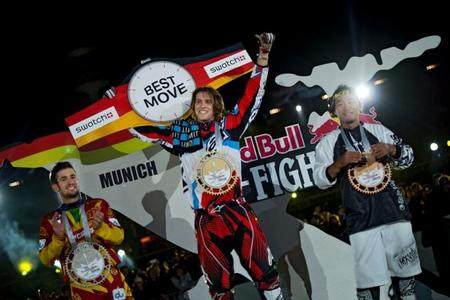 podium red bull x-fighters munich
