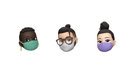Apple Nuevos Emojis Ios 14 Memoji Cubrebocas