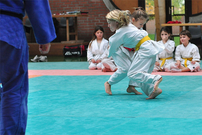 Deporte individual judo
