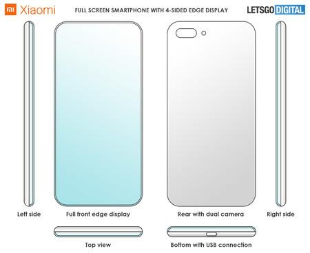 Xiaomi Patente Smartphone Todo Pantalla