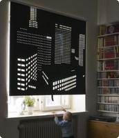 Una cortina particular