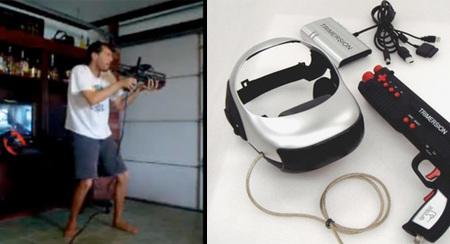Un arma, una pantalla LCD, giroscopios... ¿El sueño húmedo del amante de los FPS?