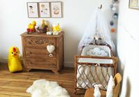 Espacios que inspiran: un dormitorio de bebé vintage