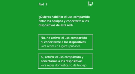 Crear una red en Windows 8