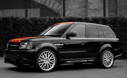 Range Rover Sport Vesuvius por Project Kahn