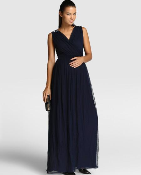 Vestido Premama Plumeti