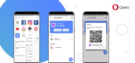 Opera lanza un navegador que integra su propia cartera de criptomonedas