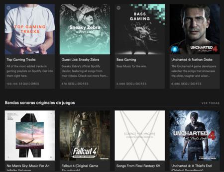 Gaming Spotify