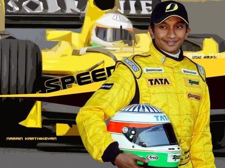 Narain Karthikeyan, nuevo piloto de Hispania F1 Racing Team