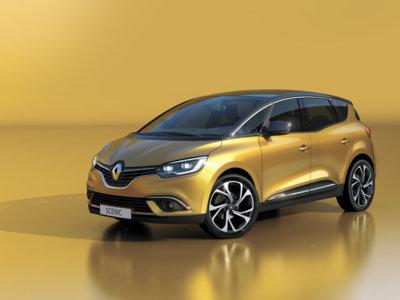 Renault Scénic 2016, fiel al concepto del monovolumen