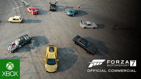 Forza Motorsport 7 ya es GOLD y Turn 10 lo celebra anunciando una demo y con un spot muy loco