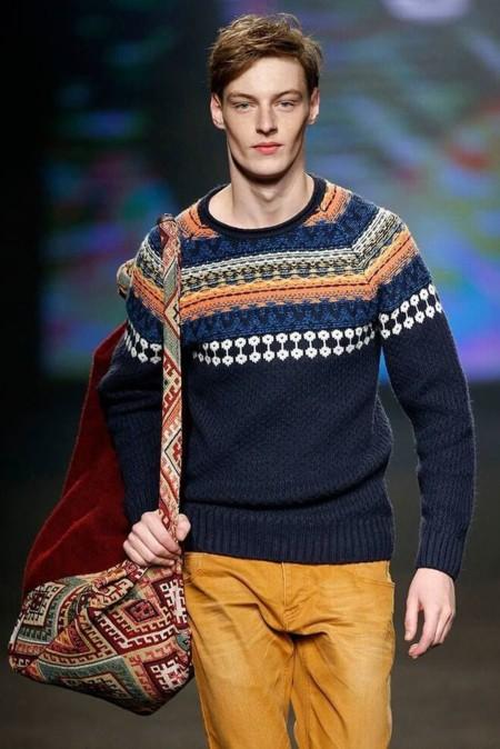 Dale vida a tu look de invierno sumándole uno de éstos suéteres con tejido nórdico