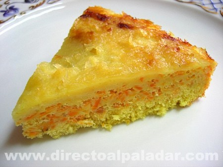Tarta de zanahoria especiada