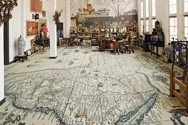 Buenas ideas para decorar con mapas