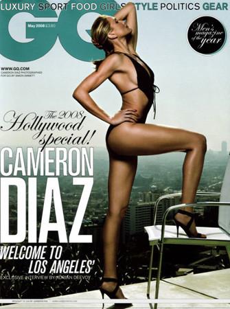 Cameron Diaz portada de GQ