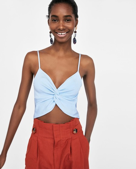 Cropped Top Zara Rebajas 08