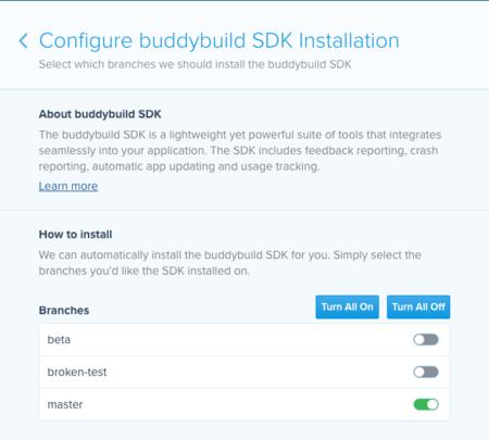Configuracion Sdk