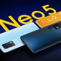 iQOO Neo 5: pantalla de 120 Hz y carga rápida de 66 W con el Snapdragon 870 a los mandos