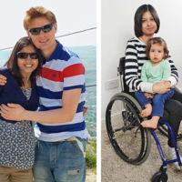 """""""Me puse la epidural para aliviar el dolor del parto y me dejó en silla de ruedas"""": una madre pide ayuda para volver a caminar"""