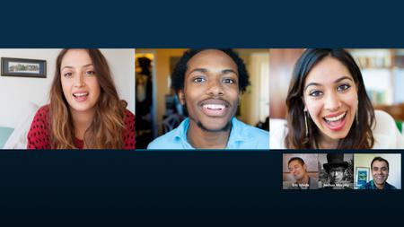 Cinco servicios para videollamadas en grupo con muchas personas