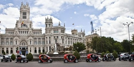 Madrid Marcha Coches Eléctricos