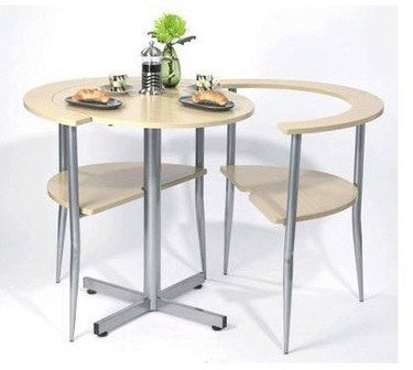 Lovers' Breakfast Table: una mesa para ahorrar espacio
