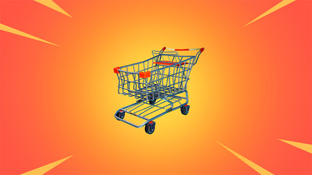Fortnite Battle Rolaye: ya disponibles los carritos de la compra como vehículos y las setas comestibles