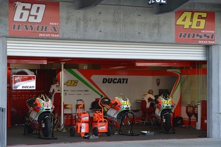 Ducati Corse Box, Indianapolis 2012