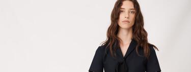 Los vestidos más sofisticados los puedes encontrar en las rebajas de Maje y Sandro
