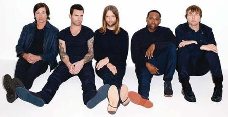 """Vuelven Maroon 5: Adam Levine nos pone en el """"mapa"""""""