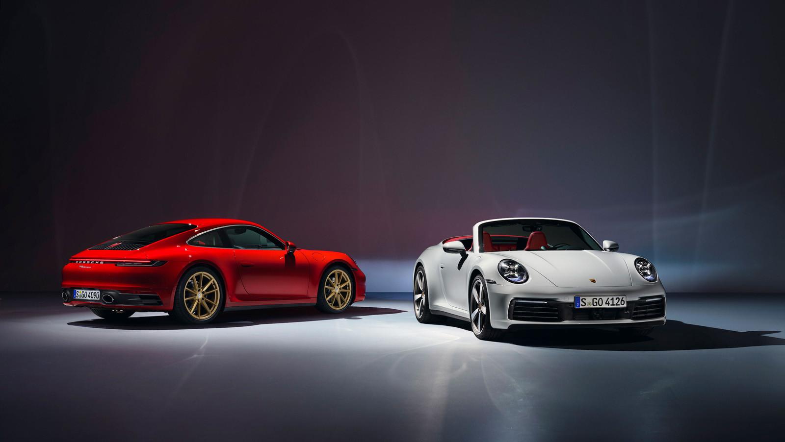 Foto de Porsche 911 Carrera y Carrera Cabriolet 2019 (1/12)