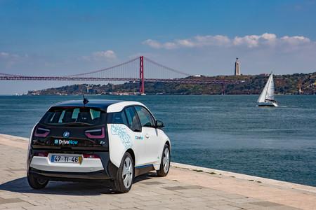 BMW DriveNow Lisboa BMW i3 movilidad carsharing