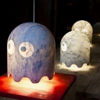 Fantastimini, divertidas lámparas de mármol inspiradas en el célebre comecocos
