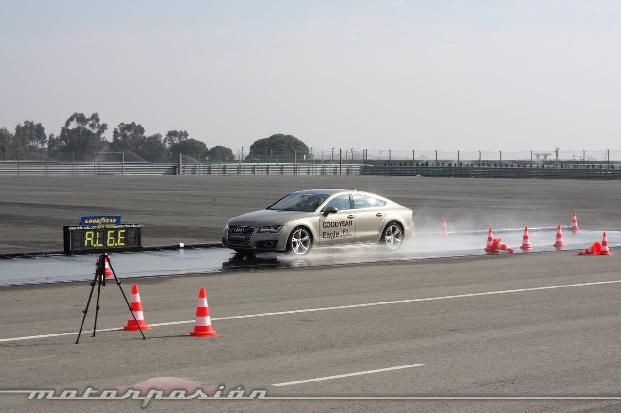 Foto de Goodyear Eagle F1: Audi TT RS, Audi A7 y Mercedes CLS (32/79)