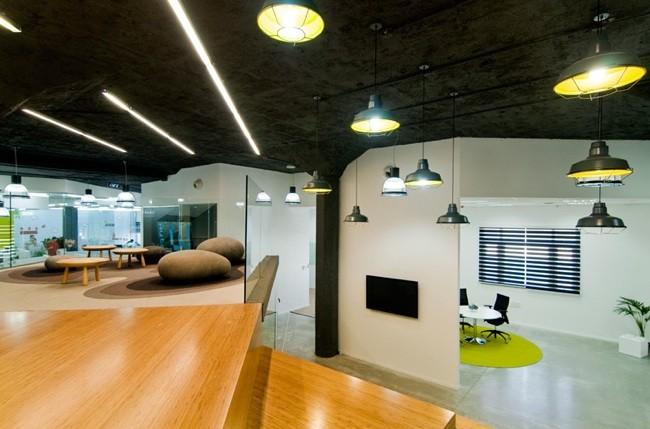Espacios para trabajar las oficinas de autodesk en tel aviv for Espacios para oficinas