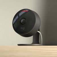 Logitech tiene nueva cámara IP: la Circle View permite anular micro y cámara con sólo inclinarla