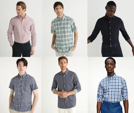 14 camisas Tommy Hilfiger a mitad de precio en las segundas rebajas de El Corte Inglés