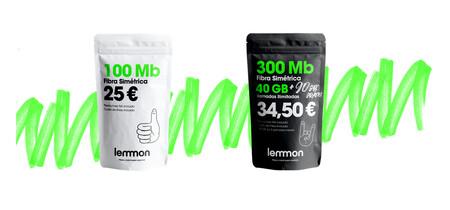 Lemmon refuerza sus tarifas: fibra más barata y planes combinados con más gigas