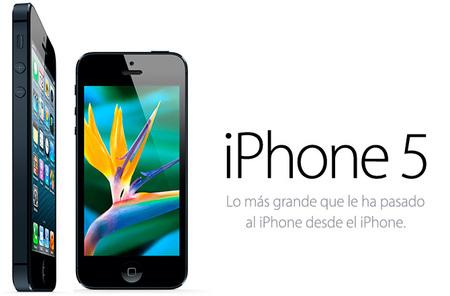 Nuevo iPhone 5, con mucha más potencia y pantalla más grande