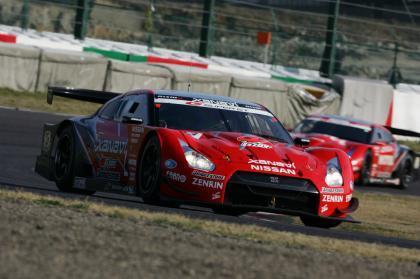 Nissan GT-R, debut y victoria en SuperGT