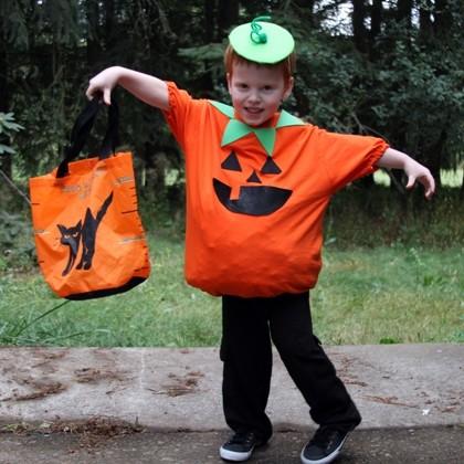Disfraz Halloween Facil Barato Calabaza