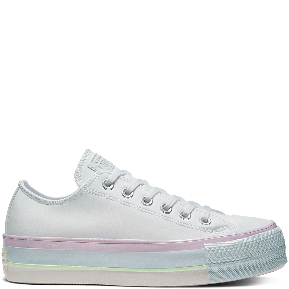 Intergalactic Fade Chuck Taylor All Star Platform Low Top mujer