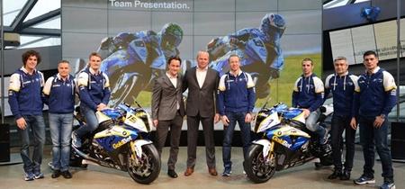 Presentación del BMW Motorrad GoldBet de Superbikes. Objetivo: el título