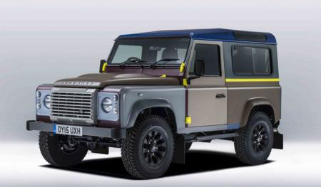 Un Land Rover Defender con diseño de pasarela
