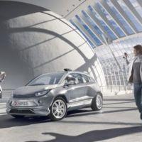 Budii es el coche autónomo y eléctrico que imaginan en Rinspeed