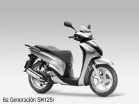 Honda SH125i, sexta generación